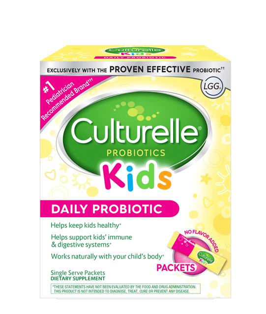 Sachets de probiotiques quotidiens pour enfants de probiotiques Culturelle®